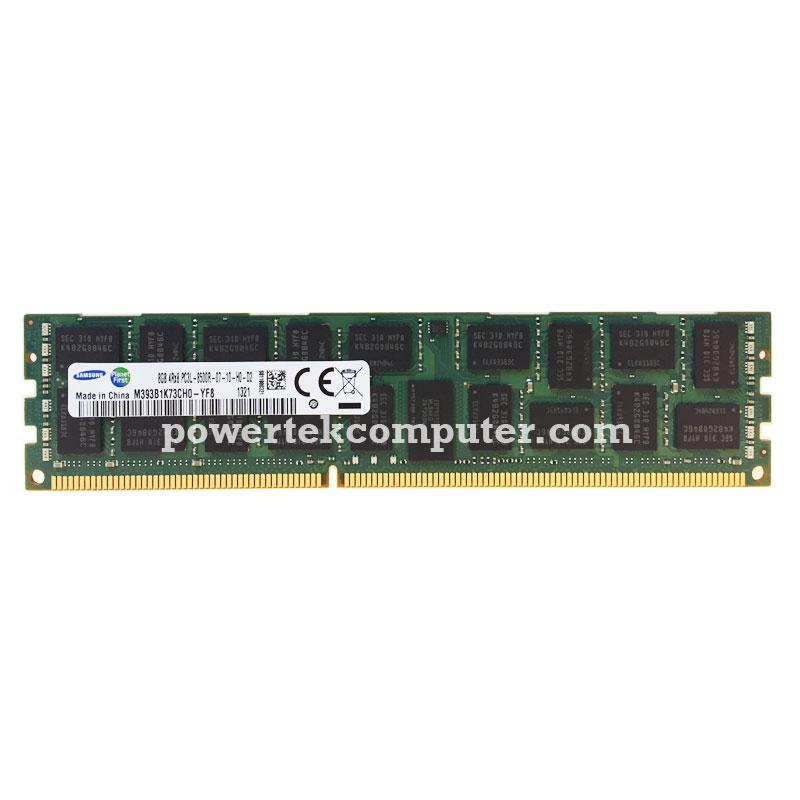 Lot of 5x Samsung 8GB 4Rx8 PC3L-8500R Server RAMs QTY/_